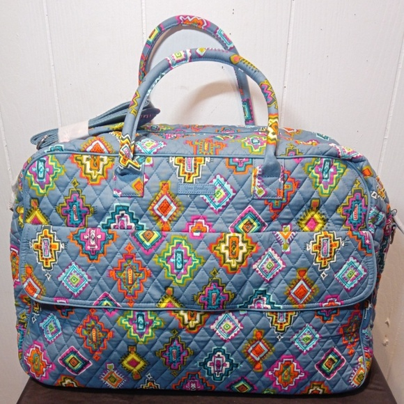 Vera Bradley Handbags - NWT Vera Bradley Grand Traveler-Painted Medallions
